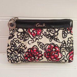 Coach Floral Poppy Graffiti Bag